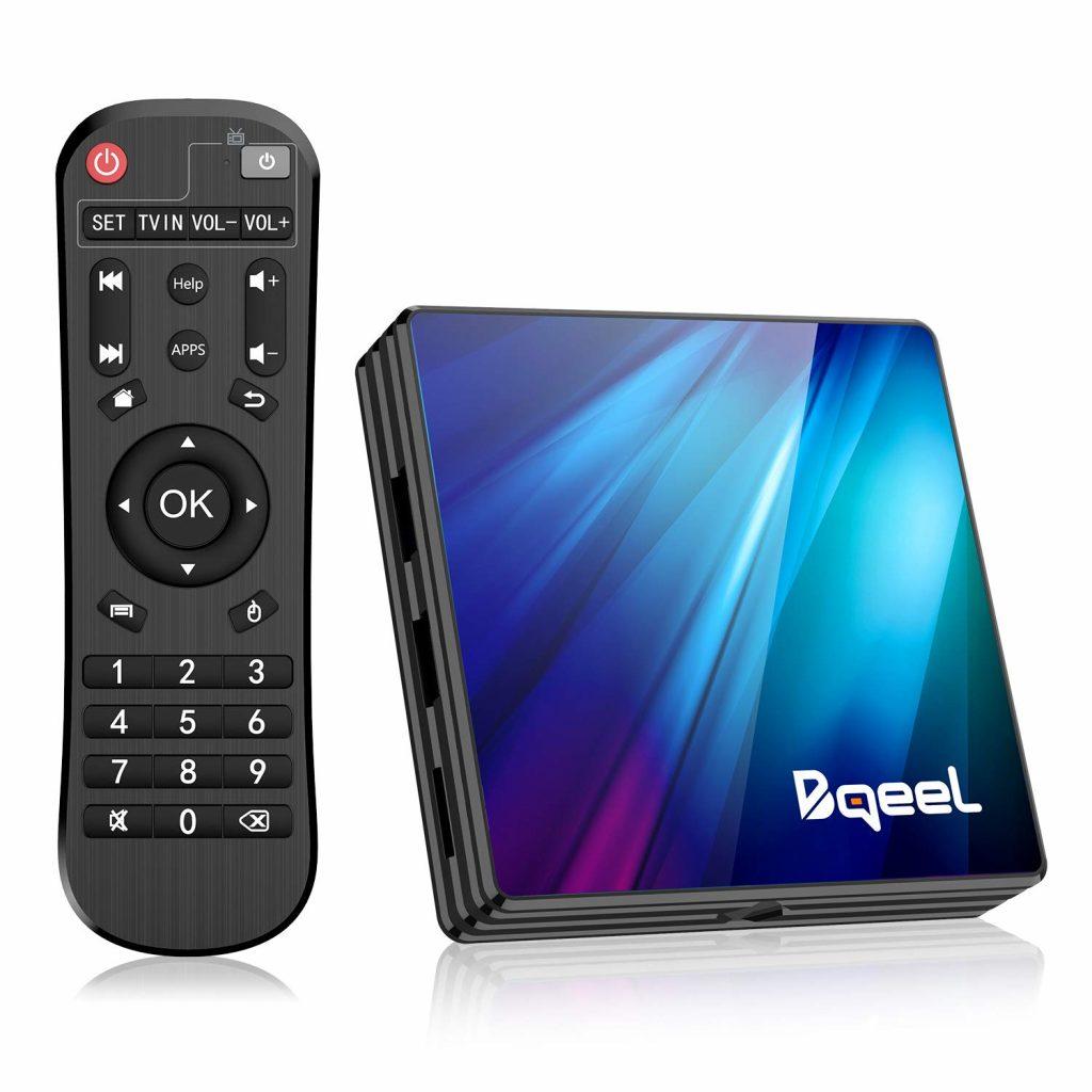 Bqeel Android 9.0 TV Box R1 PLUS, TV Box del momento